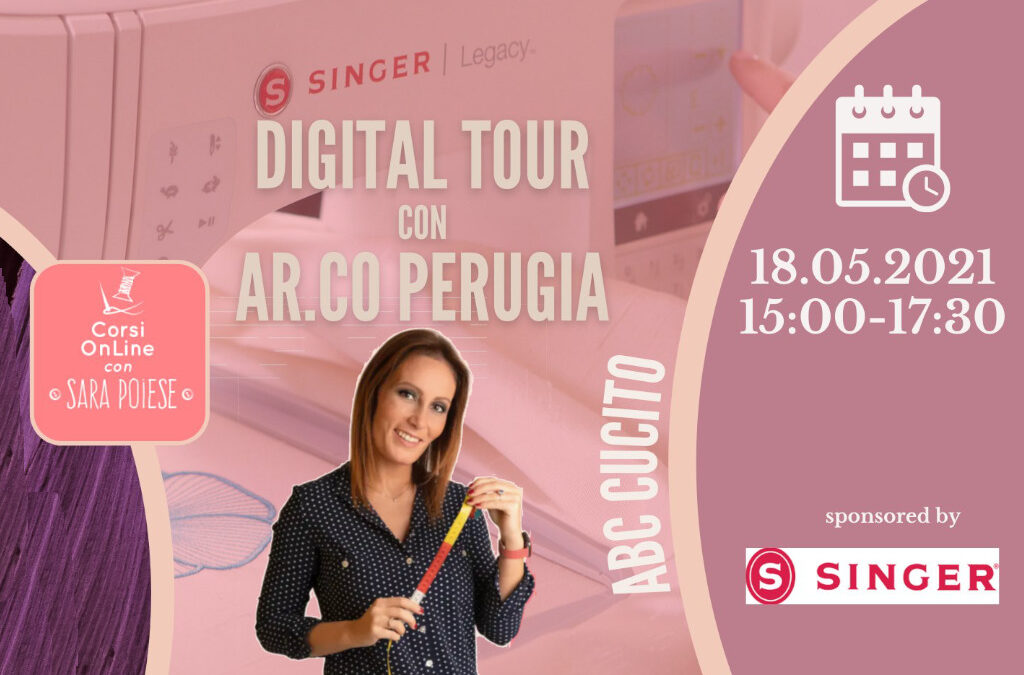 Singer digital tour con Sara Poiese e Ar.Co.